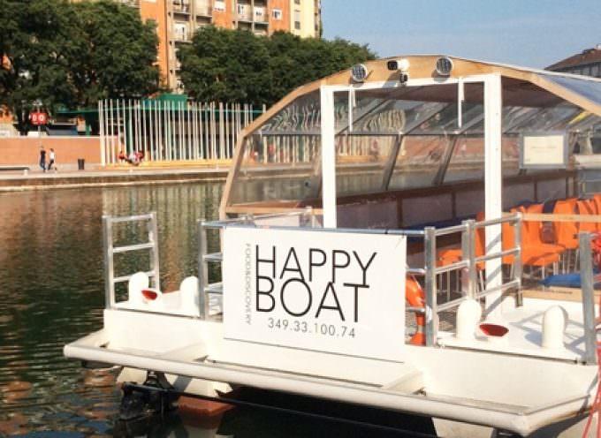 Happy hour in crociera sui Navigli nella Milano vecchia