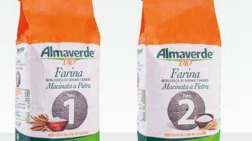 Novità Almaverde: Le farine Bio tipo 1 e 2