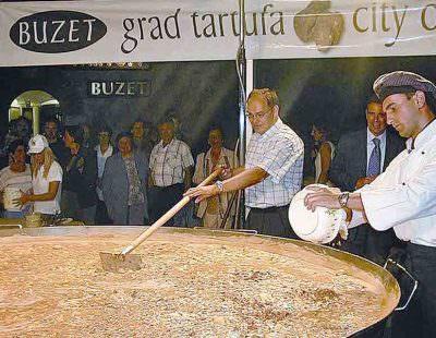 tartufi Istria Buzer Frittata gigante