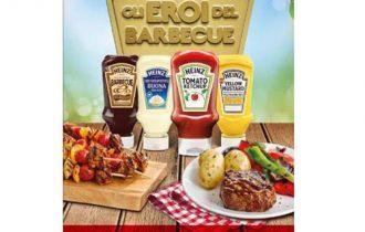 Heinz, i quattro eroi del barbecue