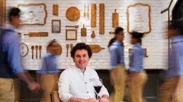 Luigi Ferraro, chef: da Mosca al Shangri La di Delhi