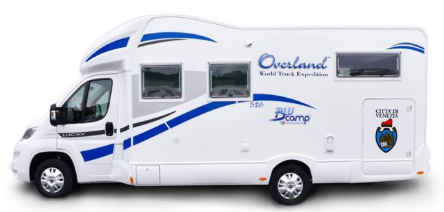 Camper Overland per la Via della seta