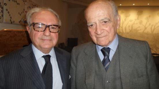 Colombo Clerici con Piero Bassetti