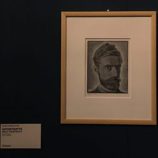 Cornelis Escher - Autoritratto