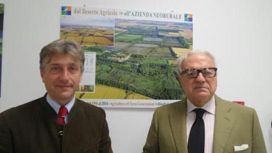 Francesco Natta con Achille Colombo Clerici