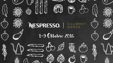 NESPRESSO Gourmet Weeks: 8 grandi chef, Buon Caffè e concorso aperto a tutti