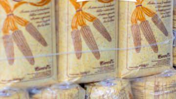 Ricette per bollicine: Crema di farina di granoturco Nostrano di Storo