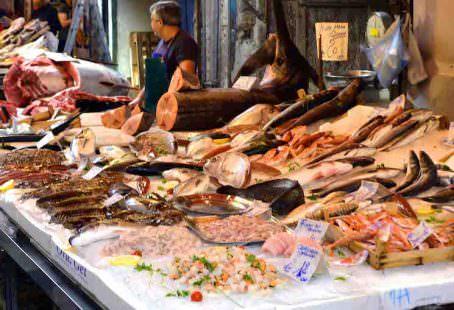 Alimentazione - banco del pesce