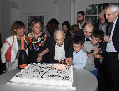 Carlo Riccardi 90 candeline (ph. Marino Paoloni)