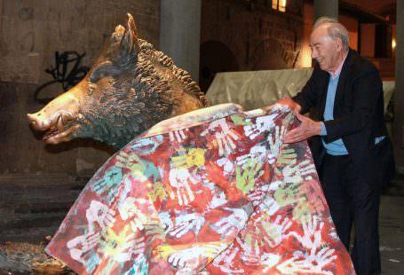 Carlo Riccardi -coperta per la fontana del Porcellino a Firenze