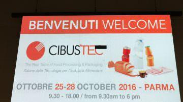 Il futuro del meccano alimentare è cominciato oggi 25 ottobre, con  Cibus Tec 2016, a Parma
