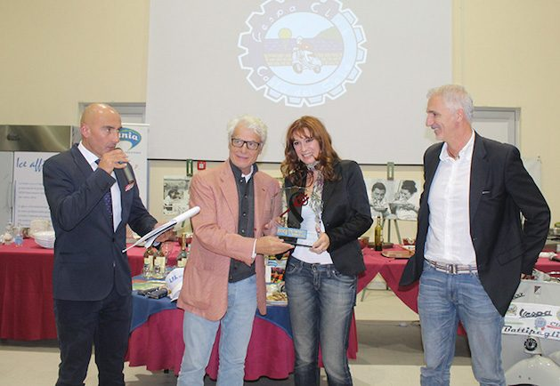 Cinecibo: Michele Placido premia Dino Abbrescia ed Elisabetta Pellini
