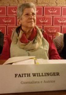 Daunia 2016 - Peppe Zullo - Faith Willinger, giornalista, scrittrice di gastronomia