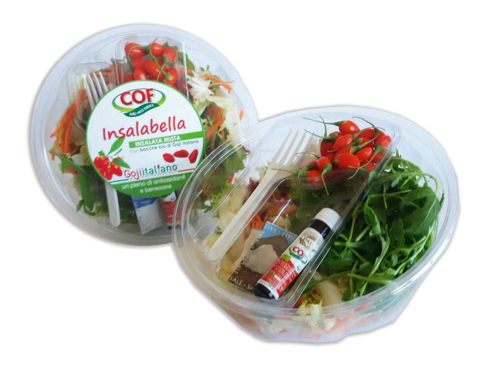 INSALABELLA: insalata con bacche di Goji Italiano fresche e biologiche – Novità IV gamma