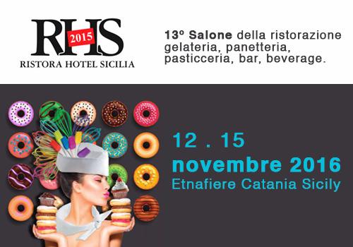 A novembre la tredicesima edizione di RHS – Ristora Hotel Sicilia