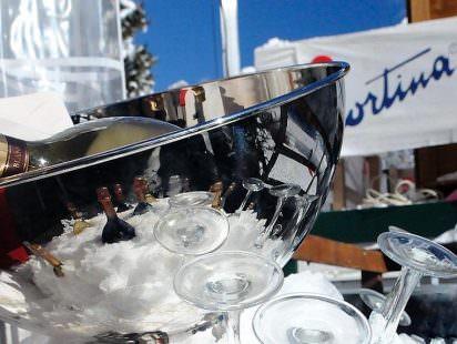 Cortina d'Ampezzo. Bollicine al Polo Winter Award Ph: Time to lose