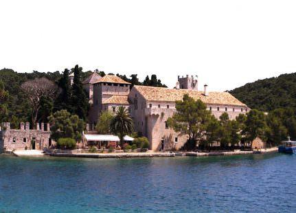 Mljet convento isola