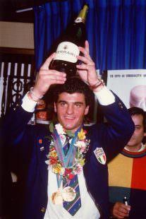 Calgary 1988. Alberto Tomba campione del Mondo