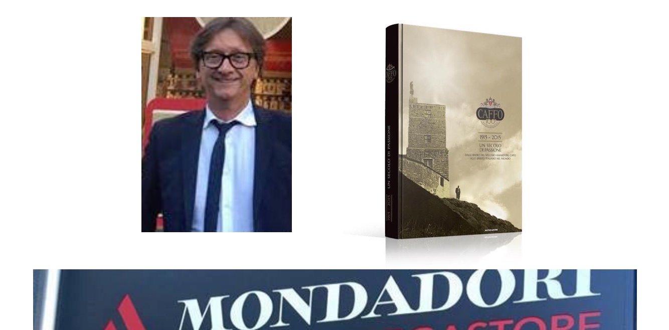 Marco Viroli, autore di 'Un secolo di passione' della Famiglia Caffo… Vecchio Amaro  del Capo