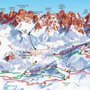 Dolomiti: Con #TrentinoSkiSunrise lasci la prima traccia in pista alla luce dell'alba