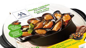 Cozze pronte in cocotte Angulas Aguinaga