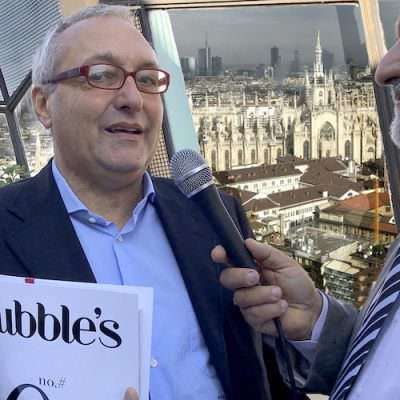 Bubble's Italia Magazine  a Vinitaly 2018 con Movimento Turismo Vino Nazionale