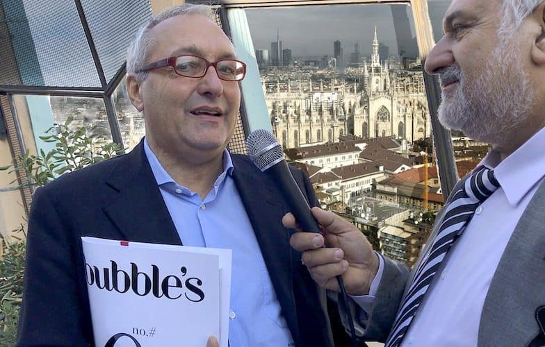 Bubble's Magazine: bollicine Top di carta stampata
