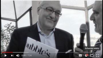 Bubble's Magazine: intervista esclusiva al Direttore Giampietro Comolli (Video)