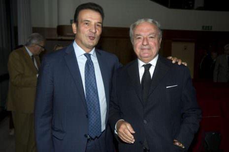 Giuseppe Sopranzetti con Achille Colombo Clerici pres. di Assoedilizia e di IEA
