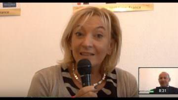 Marie-Odile Fondeur, Directrice Générale de  Sirha (Video)