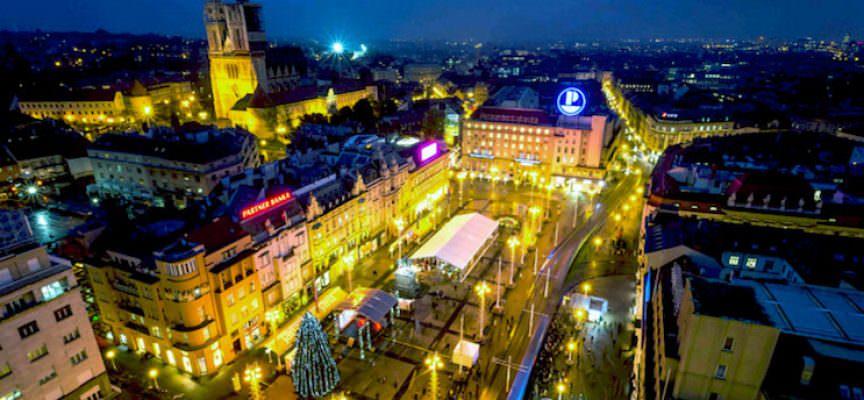 Feste di Natale con la famiglia a Zagabria