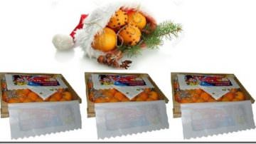 Arance sotto l'albero di Natale direttamente dalla Sicilia, dal contadino