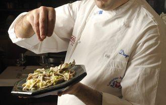 Diego Carnini, cuoco storico dell'Hotel Sassella a Grosio (SO)