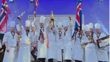 Mathew Peters, restaurant Per Se (New York) won the Bocuse d'Or 2017