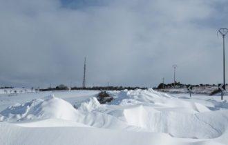 Altamura, Alta Murgia… gennaio 2017, Alta… Neve e tanto freddo