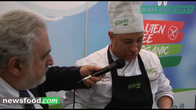 Pasta Felicia a Biofach – intervista al cuoco Massimo Buono (Video)