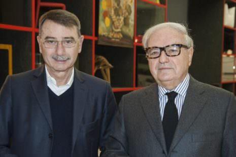 Achille Colombo Clerici con Carlo Montalbetti