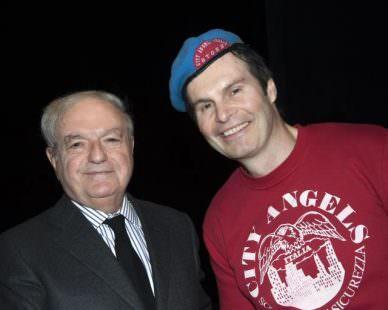 Achille Colombo Clerici con Mario Furlan