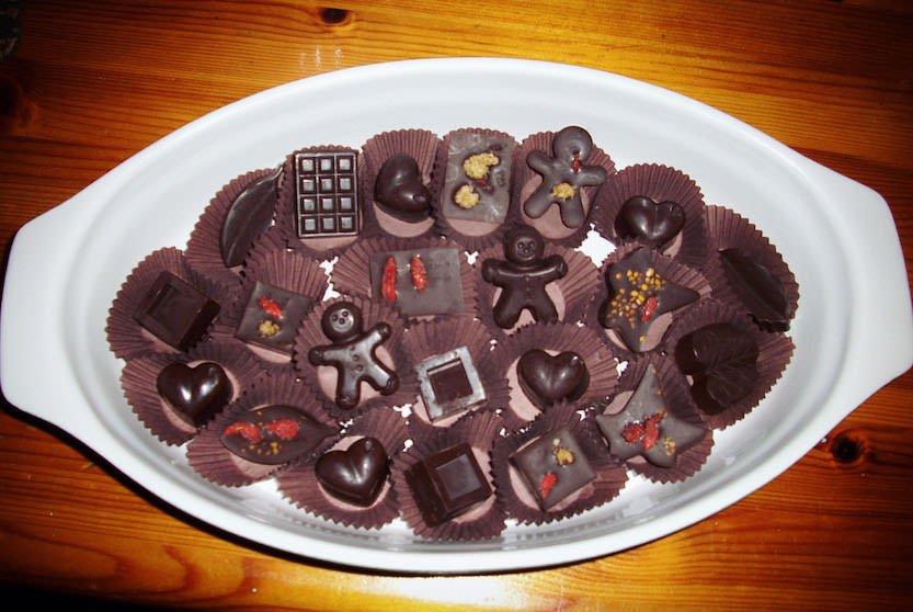 Radicetonda: Come preparare in casa cioccolatini con cacao naturale