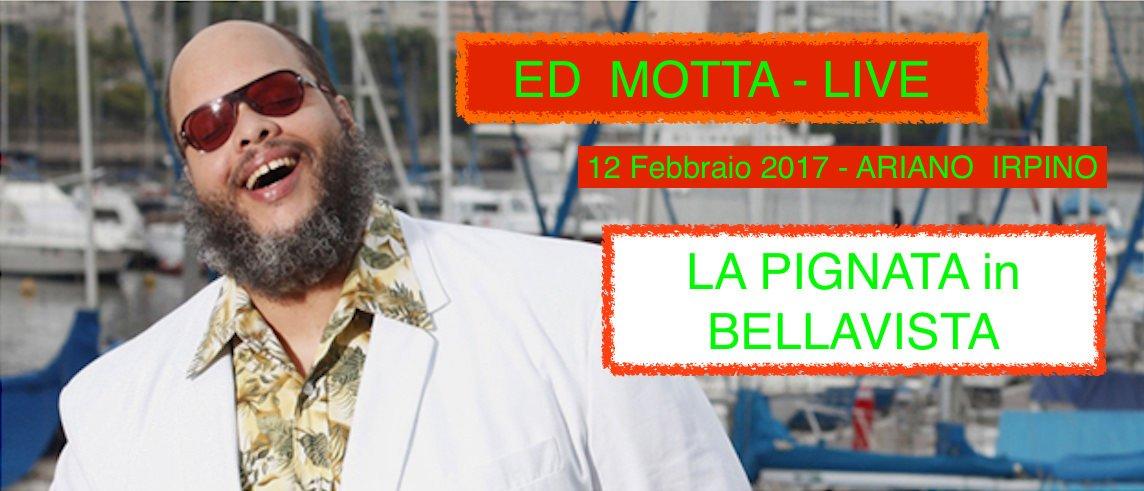 Ariano Irpino, Pignata in Bellavista: ritorna la musica live di Ed Motta