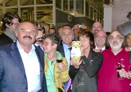 Gugliemo Ventre con Oscar Farinetti