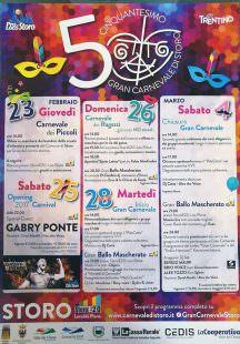Programma Carnevale Storo