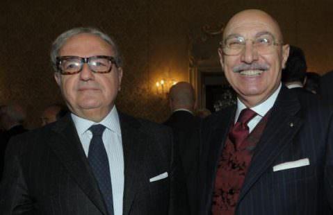 Colombo Clerici con il Gen. Giovanni Fantasia