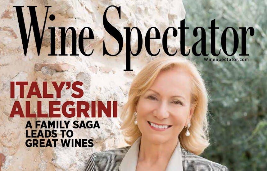 Cover story di Marilisa Allegrini su Wine Spectator