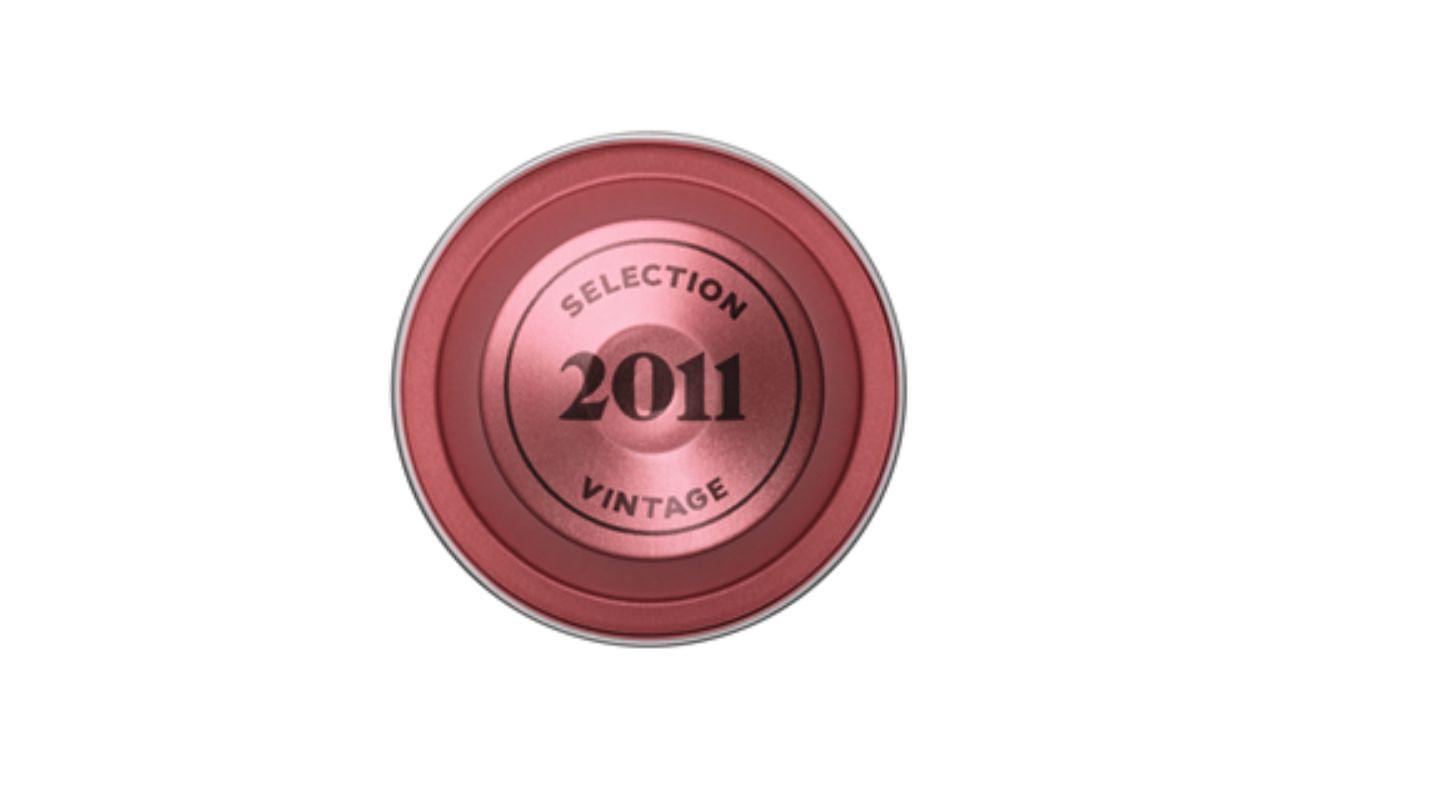Caffè Selection Vintage 2011 invecchiato 6 anni by Nespresso