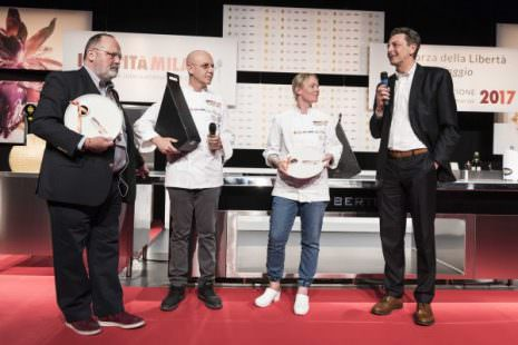 Paolo Marchi, Franco Pepe, Sarah Minnick e Cesare Baldrighi