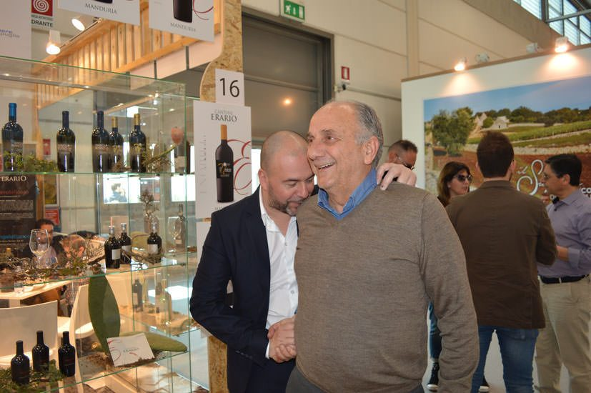 A Vinitaly 2017 un Leone a difesa di Guagnano e del Negroamaro