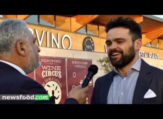 Signorvino Verona, fuori Vinitaly 2017: Michele Rimpici (Video)