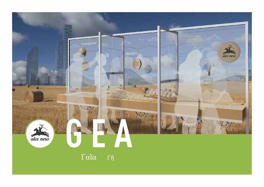 Alce Nero – Fuori Salone con GEA dal 4 al 9 aprile sul palco di Eataly Smeraldo