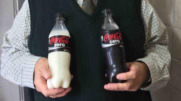 Edoardo Raspelli brevetta la Coca Cola bianca come il latte